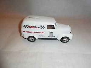 "Ertl #2936 1:25 ""Bethlehem Steel Special Run"" 1950 Chevy Panel Van Bank MIB"