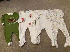 Baby Boy Next Jojo Hatley Peter Rabbit 9-12 Months Babygrow / Sleepsuit Bundle