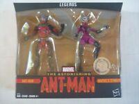 Marvel Legends ANT-MAN & STINGER toy figure set SEALED 2017 TRU Exclusive