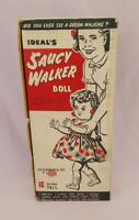 """ORIGINAL BOX for 16"""" SAUCY WALKER DOLL by IDEAL 1950s"""