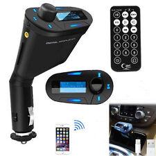 Wireless Car Kit LCD FM Transmitter Modulator USB SD MMC MP3 Music Player Remote