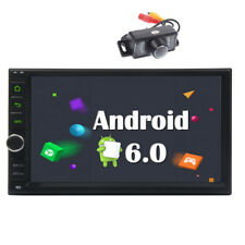 Autoradio 2 Din Android 6.0 estéreo Quad Core Car GPS navegación Bluetooth Radio