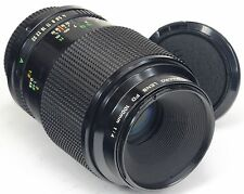 Canon FD 100mm f4 Macro