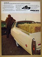 1977 Cadillac Eldorado Pickup photo President CB vintage print Ad