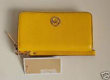 MICHAEL KORS Damen Geldbörse Portemonnaie Modell: FULTON  Leder vint yellow  Neu