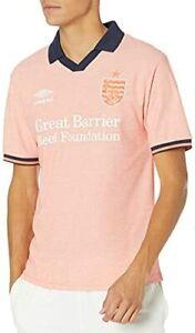 NWT Umbro Mens Coral Studios Away Jersey Polo Shirt Soccer Football XL $100 NEW
