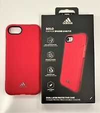 NEW OEM Adidas SOLO Apple iPhone 6 / 6S / 7 / 8 Dual Layer Protective Case Pink