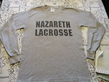 Nazareth College Golden Flyers Lacrosse L/S T-Shirt-Small Rochester, Ny New York