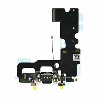 OEM SPEC Charging Dock Port Flex Cable Mic Antenna For iPhone 7 4.7'' Black NEW