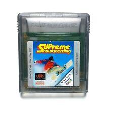 Nintendo GameBoy Color Spiel Supreme Snowboarding