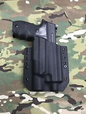Black Kydex Holster SIG P226R Threaded Barrel Surefire X300 V Vampire