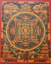 Thangka Buddha Mandala ~ Tibet ~ Tangka (1476)