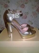 Sandali platino Anna F. n.36