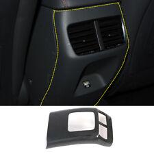 Carbon Fiber Look Inner Rear Air Vent Cover Trim For HyundaiSonataDN82020
