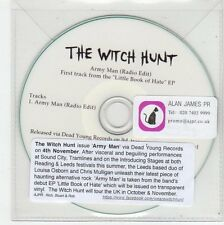 (FE962) The Witch Hunt, Army Man - 2013 DJ CD