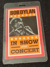 Bob Dylan Laminated In Show And Concert 1996 Tour Pass Otto Lanyard Joni & Van