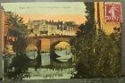 cpa 49 segré vue du vieux pont
