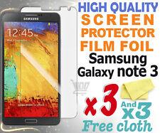 3 nueva película de Protección de pantalla de alta calidad de aluminio para Samsung Galaxy 3 N9005 Note