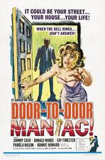 Door to door maniac Johnny Cash movie poster print