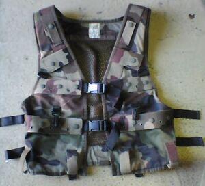 Gilet de combat TTA réglementaire Armée Française PT camouflage C/E battlevest