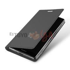 Funda con Tapa para Sony Xperia XZ2 Compact Cierre Magnético Función Soporte