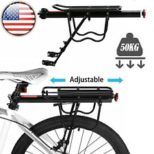 Alloy Bicycle Rear Rack Mountain Bike Carrier Bracket Pannier Luggage Cycle Seat