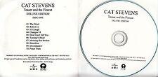 CAT STEVENS Teaser & The Firecat Deluxe Edition 2009 UK 20-trk promo test 2CD