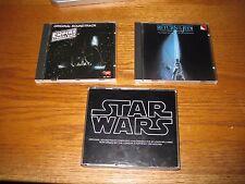 Star Wars Soundtracks- Empire Strikes Back- Return of the Jedi- first ed. MINT!