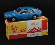 Solido 1203 Renault Fuego réédition Hachette jamais joué en boite 1/43 MIB