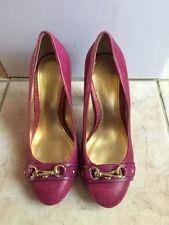 NEW COACH DESAREE Pumps Heels, ULTRAVIOLET, Style Q1659, Size 5.5B, $208
