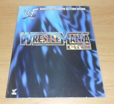 WWE/WWF - Wrestlemania X7 (17) - official event programme - Signed