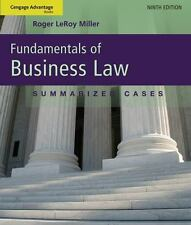 Fundamentals Of Business Law 9th Edition / Roger Leroy Miller Paperback Cengage