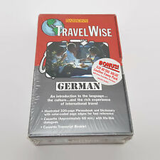 TravelWise: German by Barron's Educational Editorial Staff (1998, Cassette / Pap