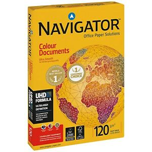 Navigator Colour Documents A3 Paper 120gsm Pack of 500 NAVA3120 Silky Smooth