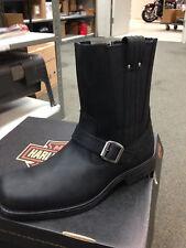 "Harley-Davidson Men's ""Troy"" Motorcycle Boots D93043  Size 8"