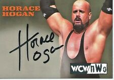 1999 Topps Embossed WCW/NWO Horace Hogan Autograph