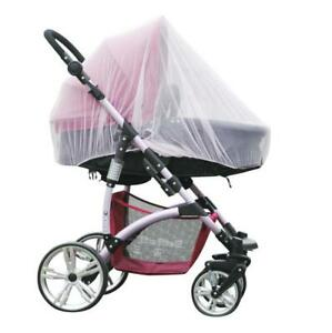 Universal Newborn Kids Stroller Pushchair Mosquito Fly Insect Net Mesh Cover