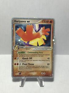 Pokemon Hariyama EX 100/107, Holo Ultra-Rare EX Deoxys *Excellent Condition*
