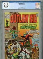 1970 MARVEL OUTLAW KID #1 JOHN SEVERIN COVER WESTERN CGC 9.6 WHITE BOX6