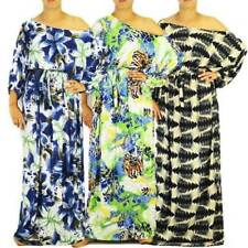Plus Size Polyester Animal Print Dresses for Women
