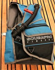 Scuba diving BCD, Scubapro Finseal small size, with new inflator.