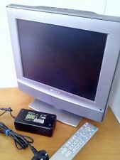 SONY BRAVIA KDL-15G2000, 15' couleur LCD TV with Freeview.