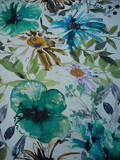 Chivasso Fabric 'Flowers of Paradise' 2.6 METRES CH2721-081 - Large Scale Floral