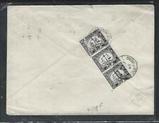 HONG KONG (P1511B) 1969 INCOMING COVER FROM AUSTRALIA POSTAGE DUE 20CX3