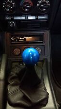 Candy Blue Manual Ball Shift Knob fits HONDA/ACURA/TOYOTA/SUBARU/NISSAN/MAZDA