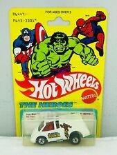 Hot Wheels Blackwall THE HEROES - IRON MAN #3917 NEW ON CARD BLISTER BP