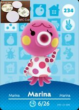 Marina NFC Tag/Coin Amiibo Card Animal Crossing New Horizons! Free Shipping!