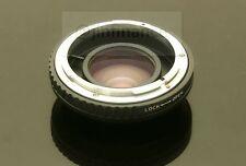 RJ Canon FD speed booster turbo adapter to m43 mft GF5 GF6 GX1 EM5 EM1 GH4 BMPCC