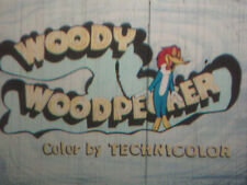 "16mm FILM MOVIE  1960 Walter Lantz Cartoon ""How to Stuff a Woodpecker""    Woody"