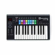 Novation Launchkey 25 MK2 Keyboard Controller With Ableton Live Lite Software